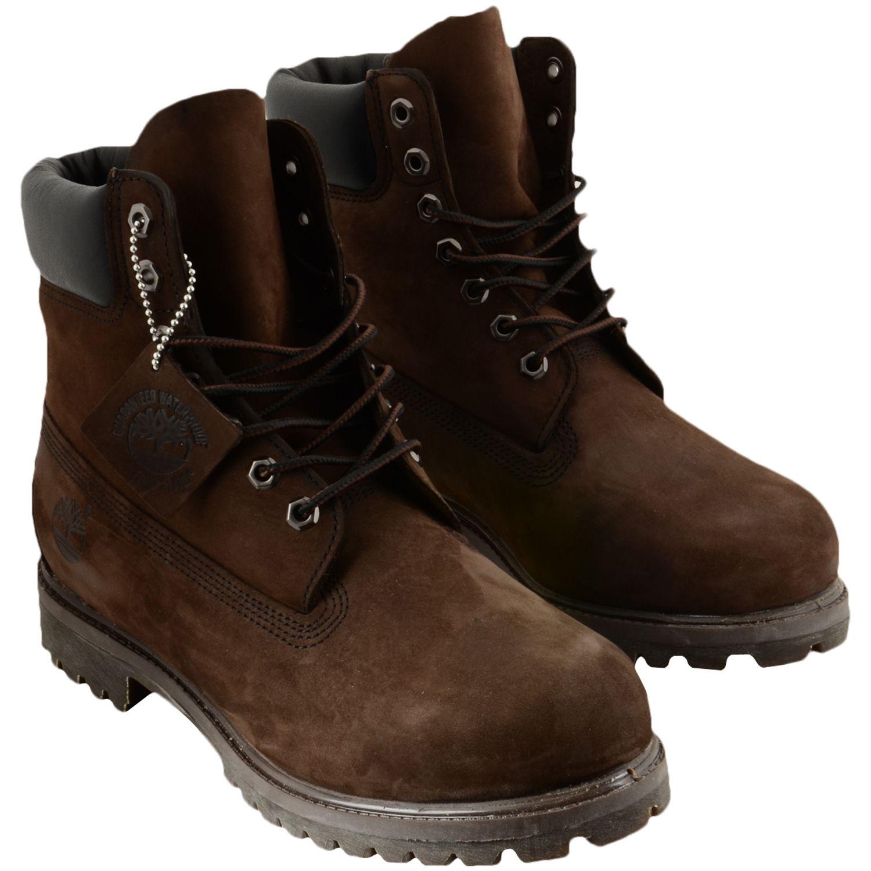 Timberland Footwear Shoes 6 In Premium Boot dark brown ➡ http://www.