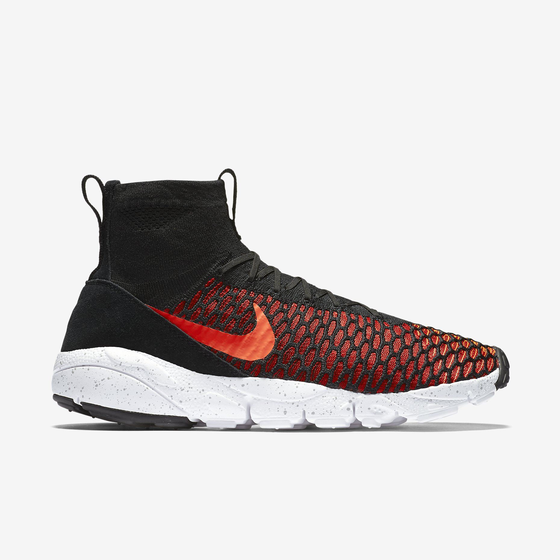 Nike Air Footscape Magista Red/Cool Flyknit (Negro/Gym Red/Cool Magista Gris/Bright 8b5063