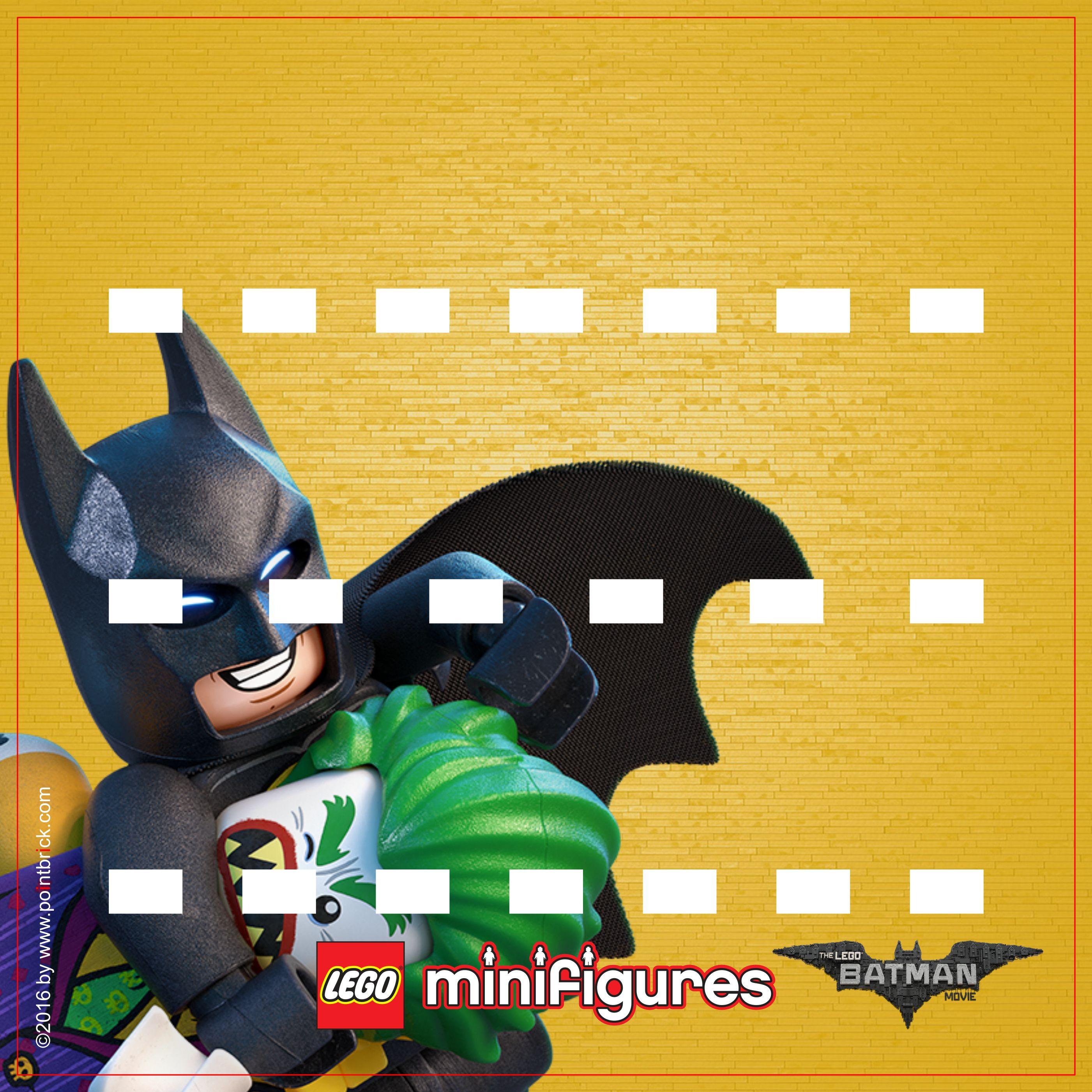 LEGO Minifigures 71017 Serie THE LEGO BATMAN MOVIE - Jokerland ...