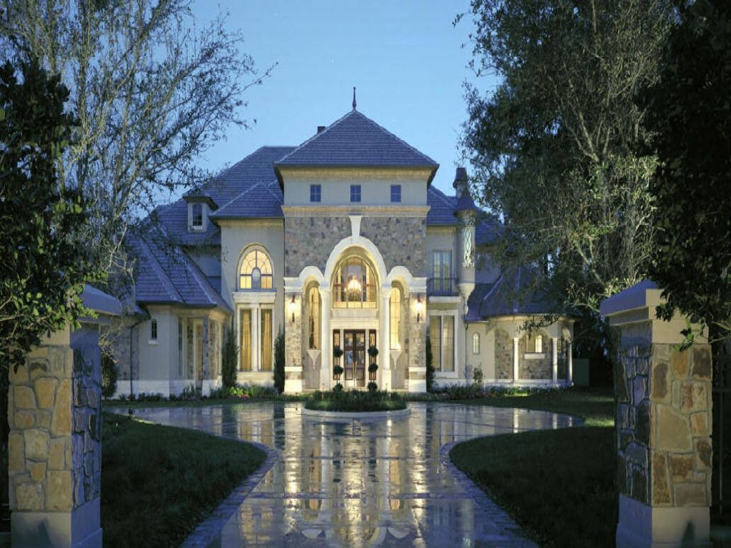 French Chateau Style Home French Style Luxury Home Plans Small