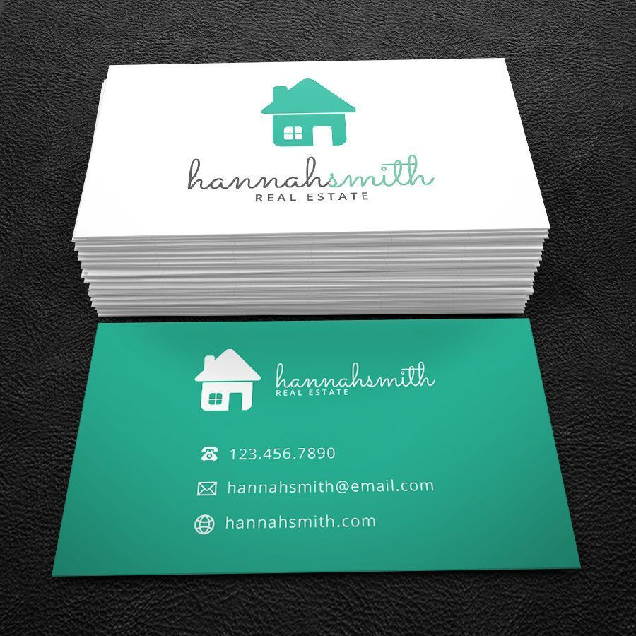 Really neat Premade Business Card Design - Print Ready - Printable ...