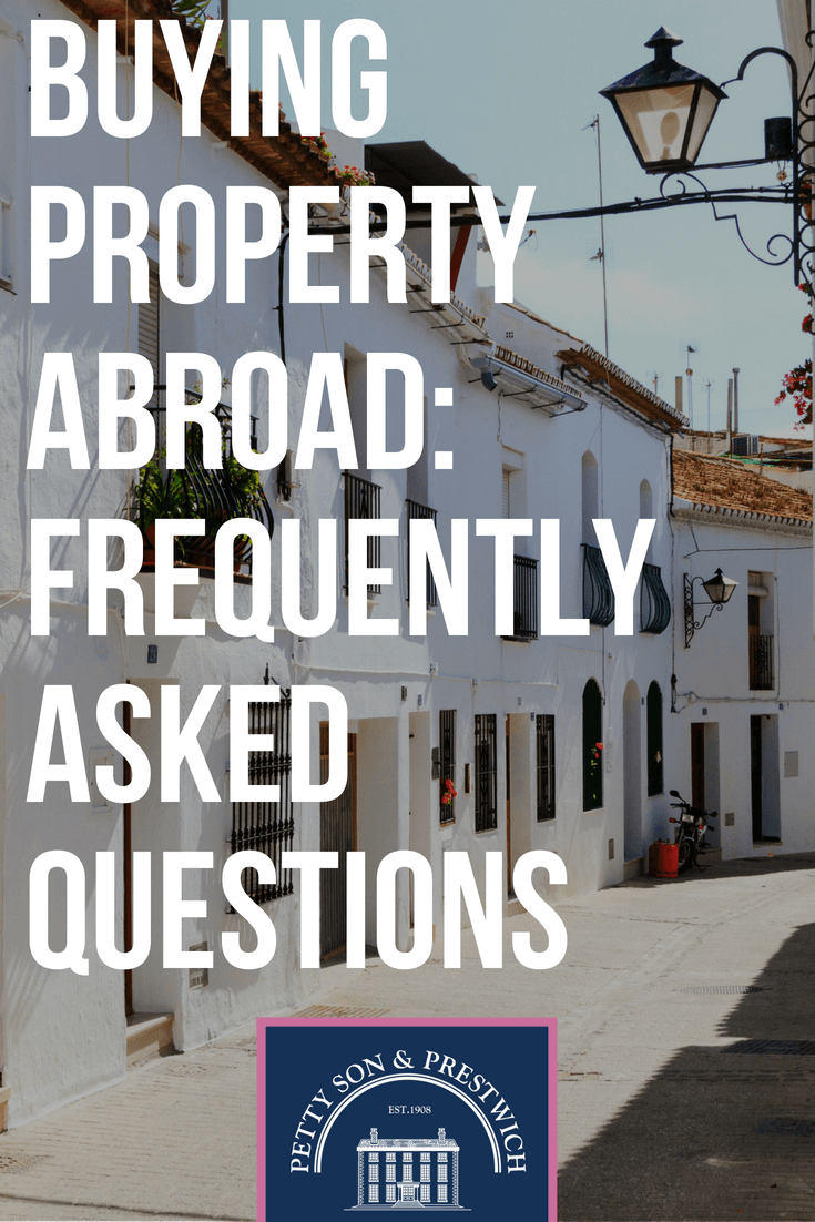 buying property abroad frequently asked questions   Europe