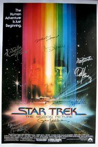 STAR TREK THE MOTION PICTURE Movie POSTER 27x40 D Leonard Nemoy