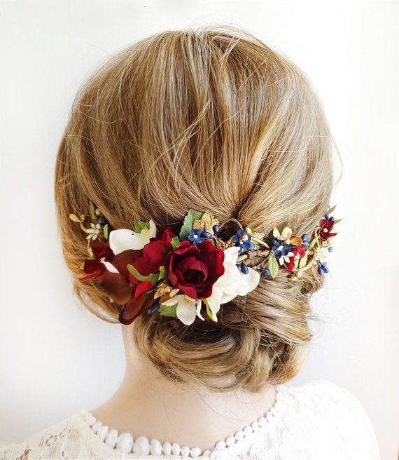 burgundy and navy wedding headpiece 6264173b1ee