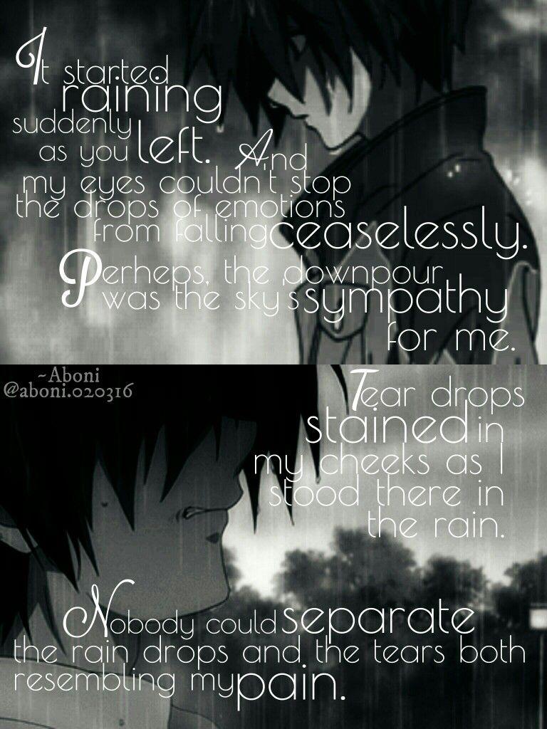 rain pain quotes sad life love clannad Tomoya