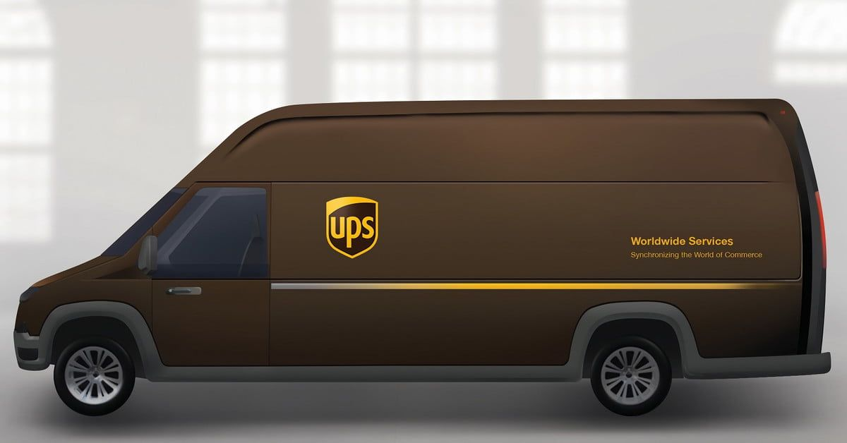Ups And Workhorse Team Up To Design An Electric Delivery Van