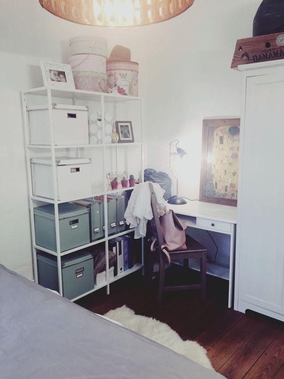 1 Zimmer Wohnung Einrichtung, 1 Raum Wohnung, Wg Zimmer Einrichten Ideen,  Kleines Schlafzimmer