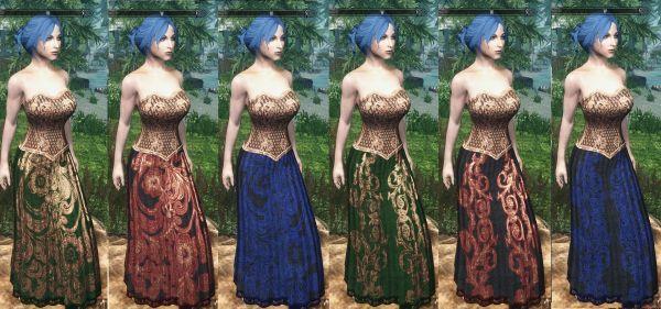 Skyrim Skirt Armor