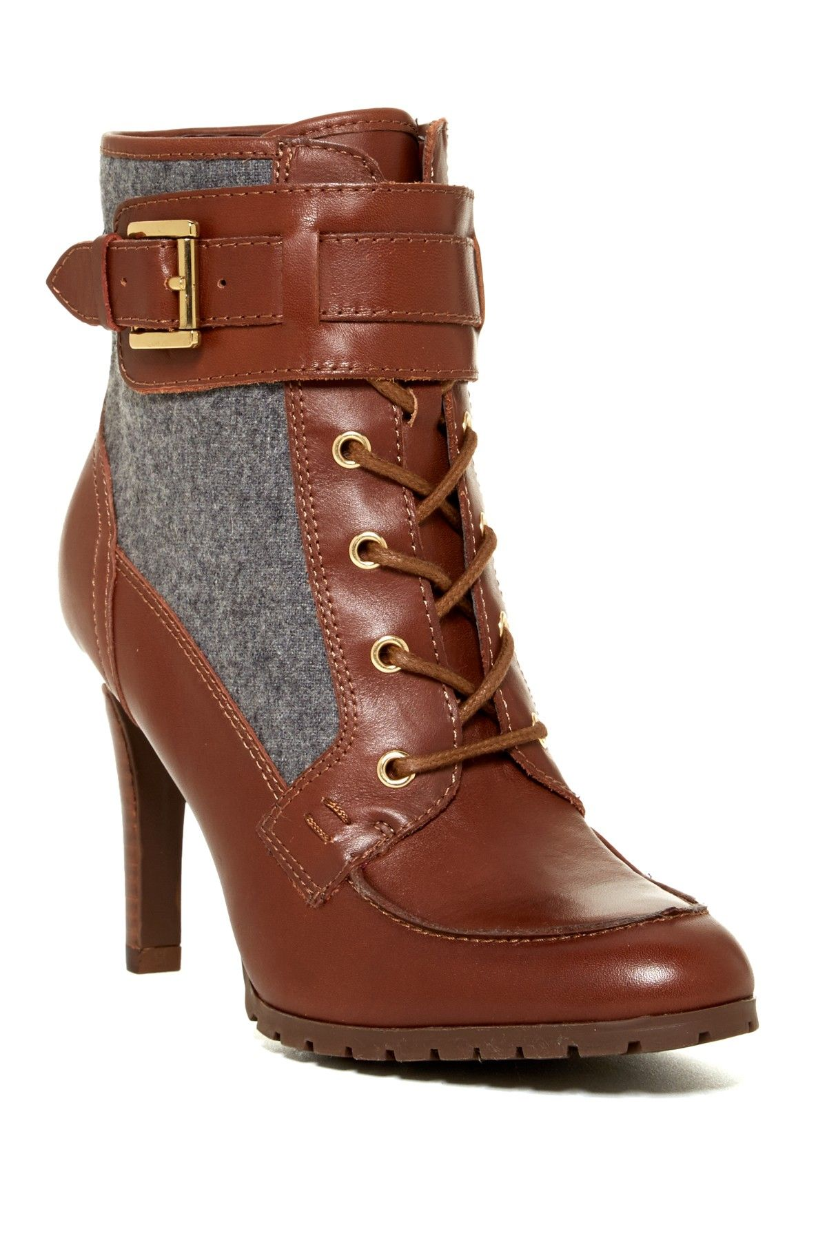 On Hautelook Tommy Hilfiger Lucinda Lace Up Bootie Boogie Shoes Me Too Shoes Boots