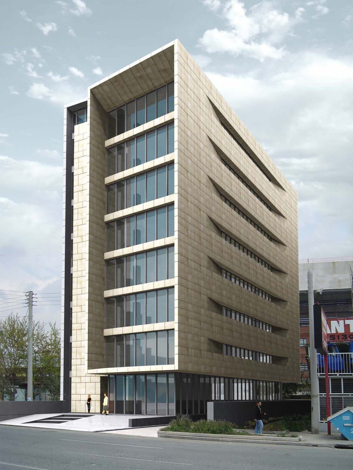Office building architecture google search for Modern office building design concepts exterior