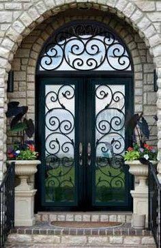 Forged Iron Doors Mediterranean Front Doors Us Door More