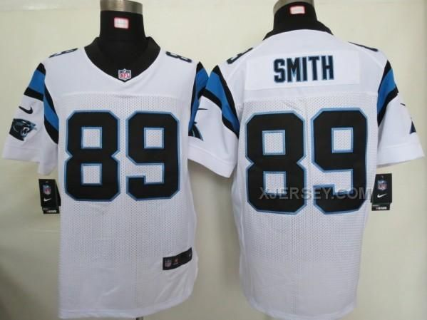 http://www.xjersey.com/nike-panthers-89-smith-white-elite-jersey.html Only$36.00 #NIKE PANTHERS 89 SMITH WHITE ELITE JERSEY Free Shipping!