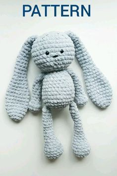 CROCHET PATTERN Easter Large Bunny Plush - Amigurumi Giant Stuffed Rabbit -   - #Amigurumi #Bunny #Crochet #Easter #Giant #Large #Pattern #Plush #Rabbit #Stuffed #tiere