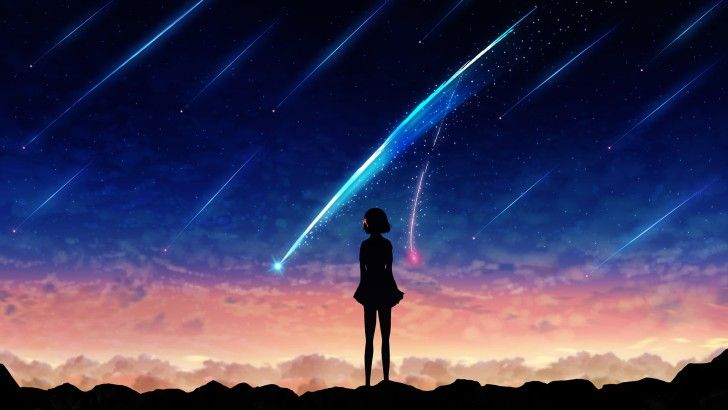 Your Name Anime Comet Art Wallpaper Your Name Wallpaper Kimi No Na Wa Wallpaper Your Name Anime Anime wallpaper your name