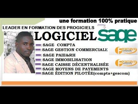 Sage 100 Comptabilite Declaration De La Tva 1ere Partie Youtube Comptabilite Gestion Logiciel