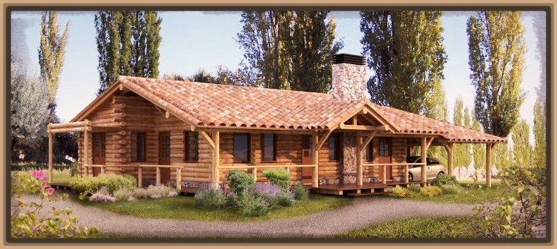 Fachadas de casas rusticas de dos pisos casas r sticas for Fachadas de cabanas rusticas