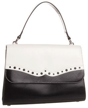 Hobo - Greta (Black White Venice Leather) - Bags and Luggage on shopstyle .com 2d67c99d2ea9f