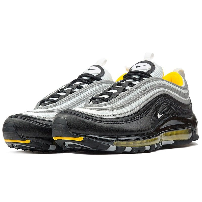 newest collection 7cee8 911d8 Nike Air Max 97 Black  White  Amarillo