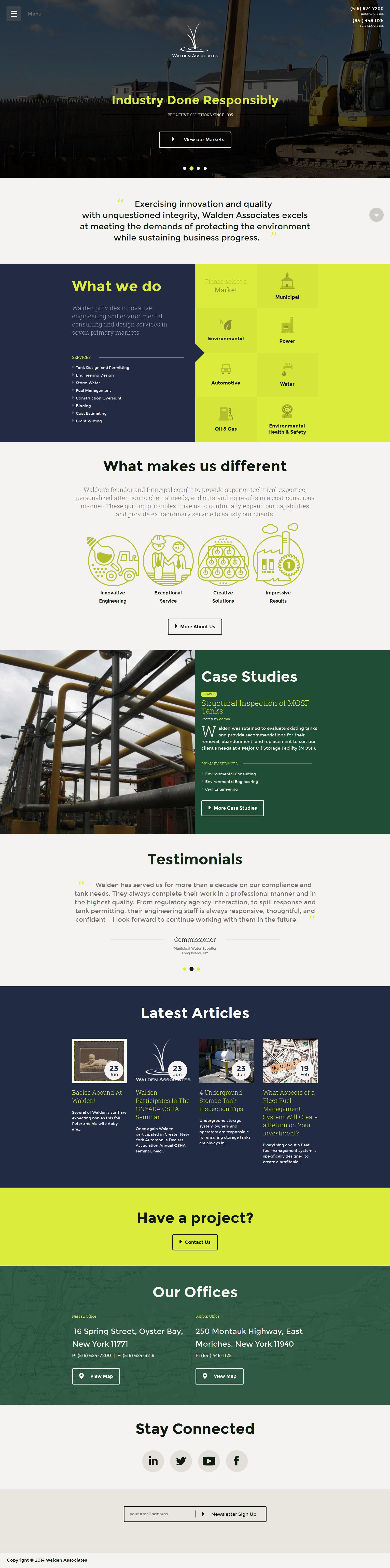 Walden Associates Website Design And Illustration Work By Www Isadoradesign Com Web Development Design Web Layout Design Web Design Inspiration