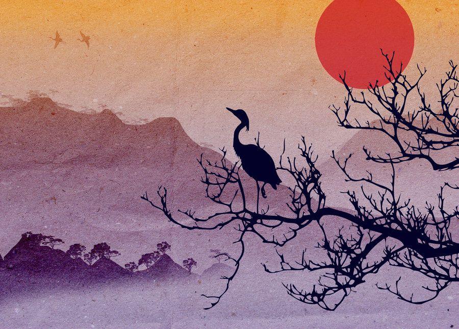 asian landscape by red cha deviantart com on deviantart tattoos
