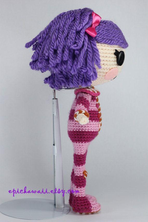 PATTERN: Pillow Crochet Amigurumi Doll | Patrones, Muñecas y Muñecas ...