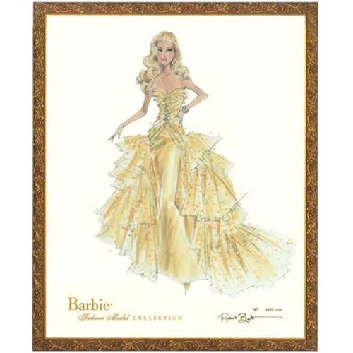 Limited Edition Vintage Shelby 50th Anniversary Barbie Print from ...