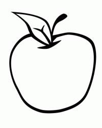 Taa Is For Tufaha Apple Tfah Apple Coloring Pages Arabic - Apple-color-page