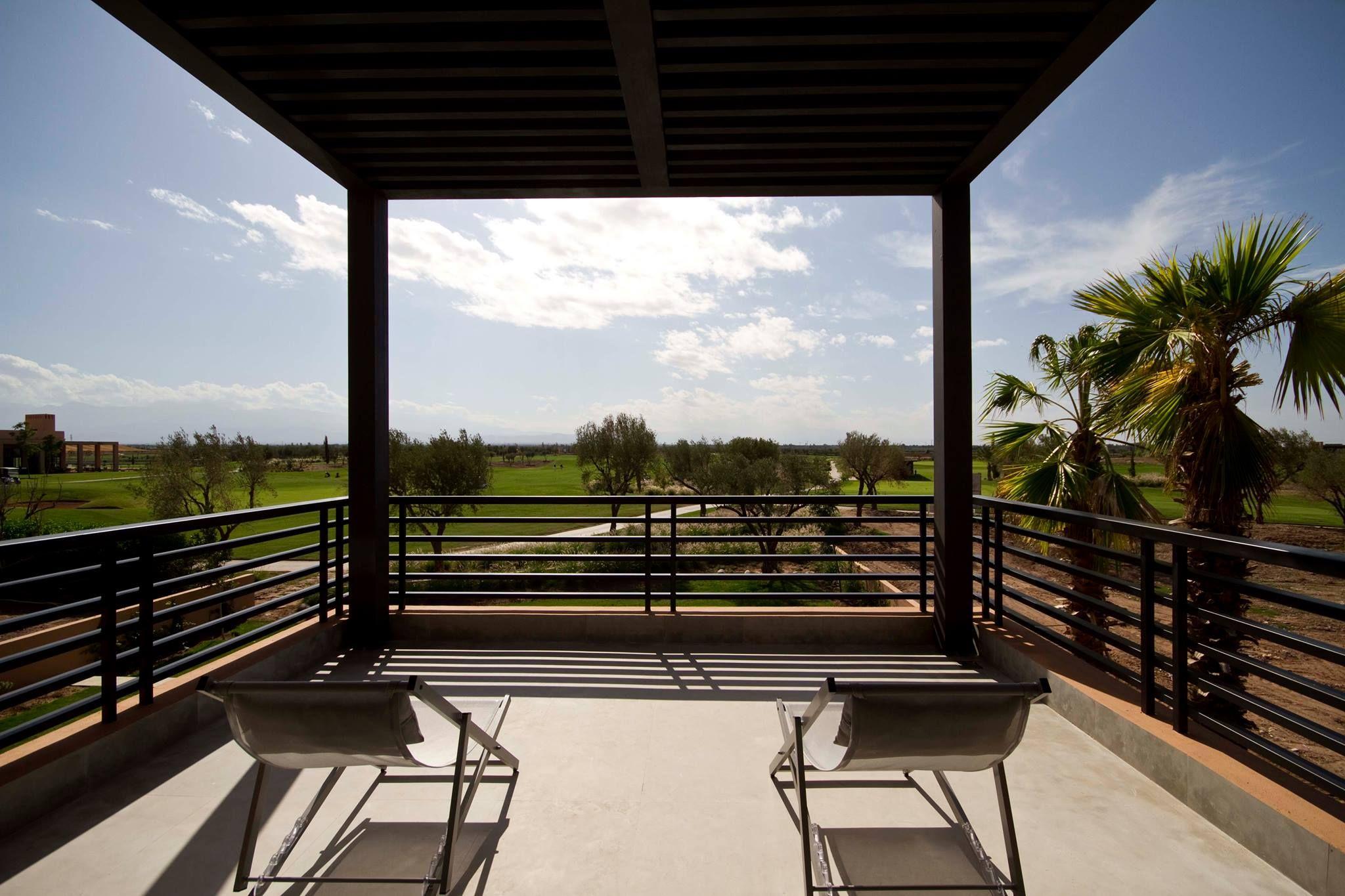 Terrace for sunbathing.
