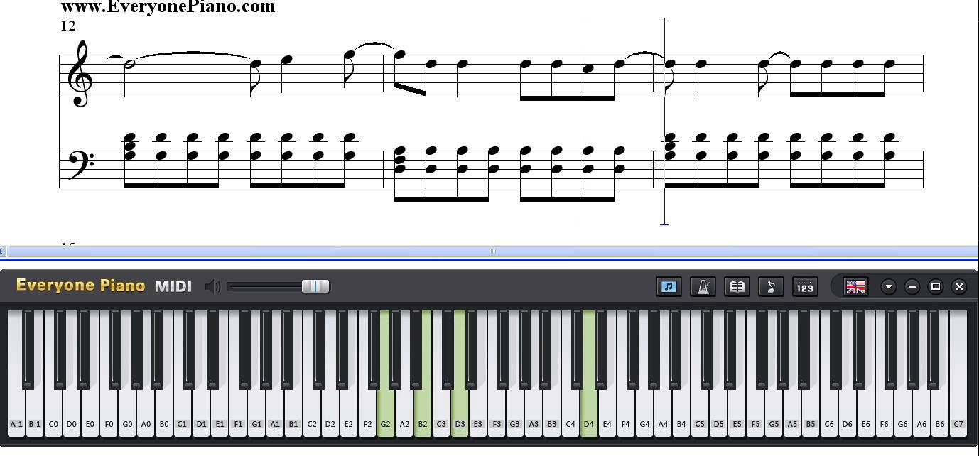 The Walker Fitz And The Tantrums Piano Sheet Music Tutorial