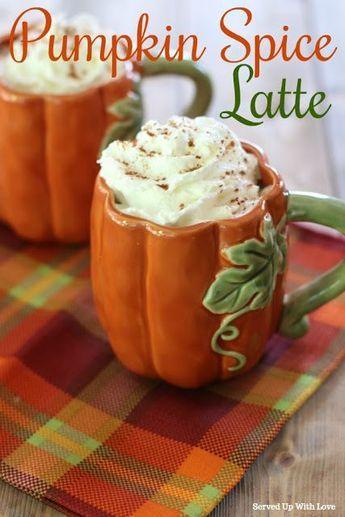 Pumpkin Spice Latte Pumpkin Spiced Latte Recipe Pumpkin