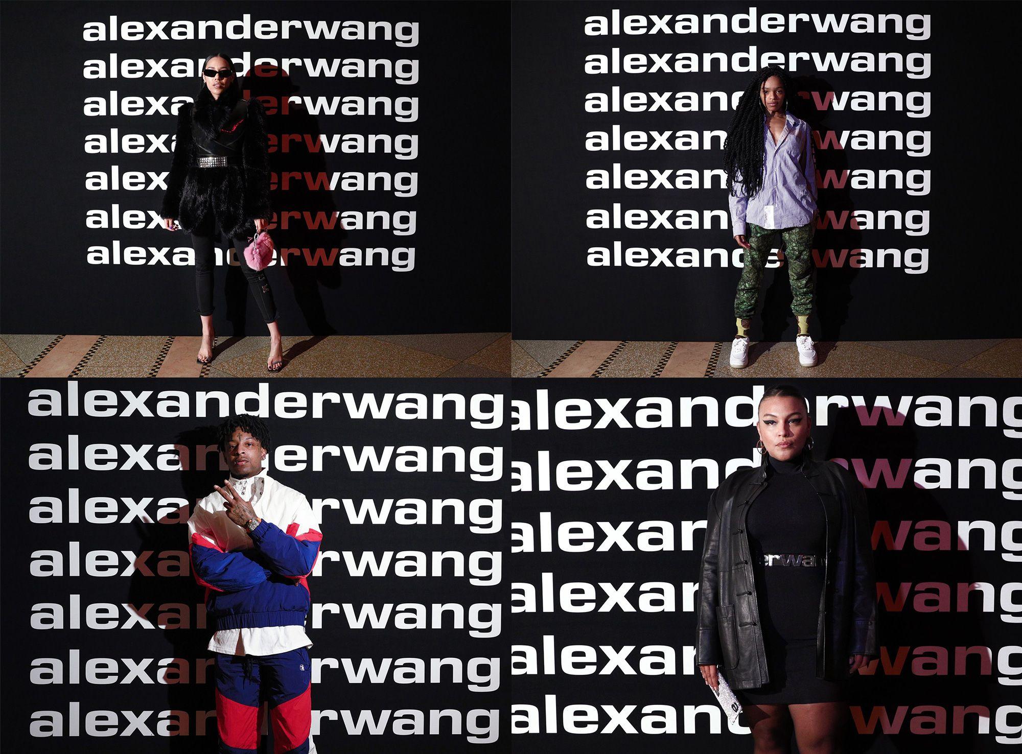 New Logo For Alexander Wang Branding Graphic Design Brand Identity