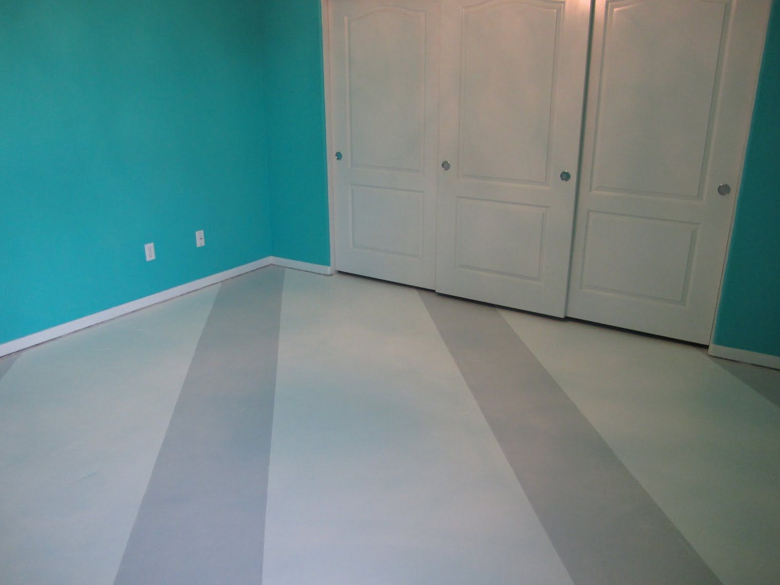 Coolest Slashes Pattern For Painted Concrete Floors Living Room Ideas Flooring Ideas