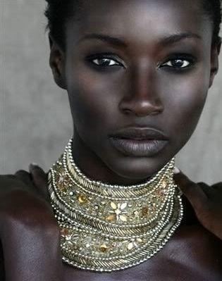 Beautiful black african ladies