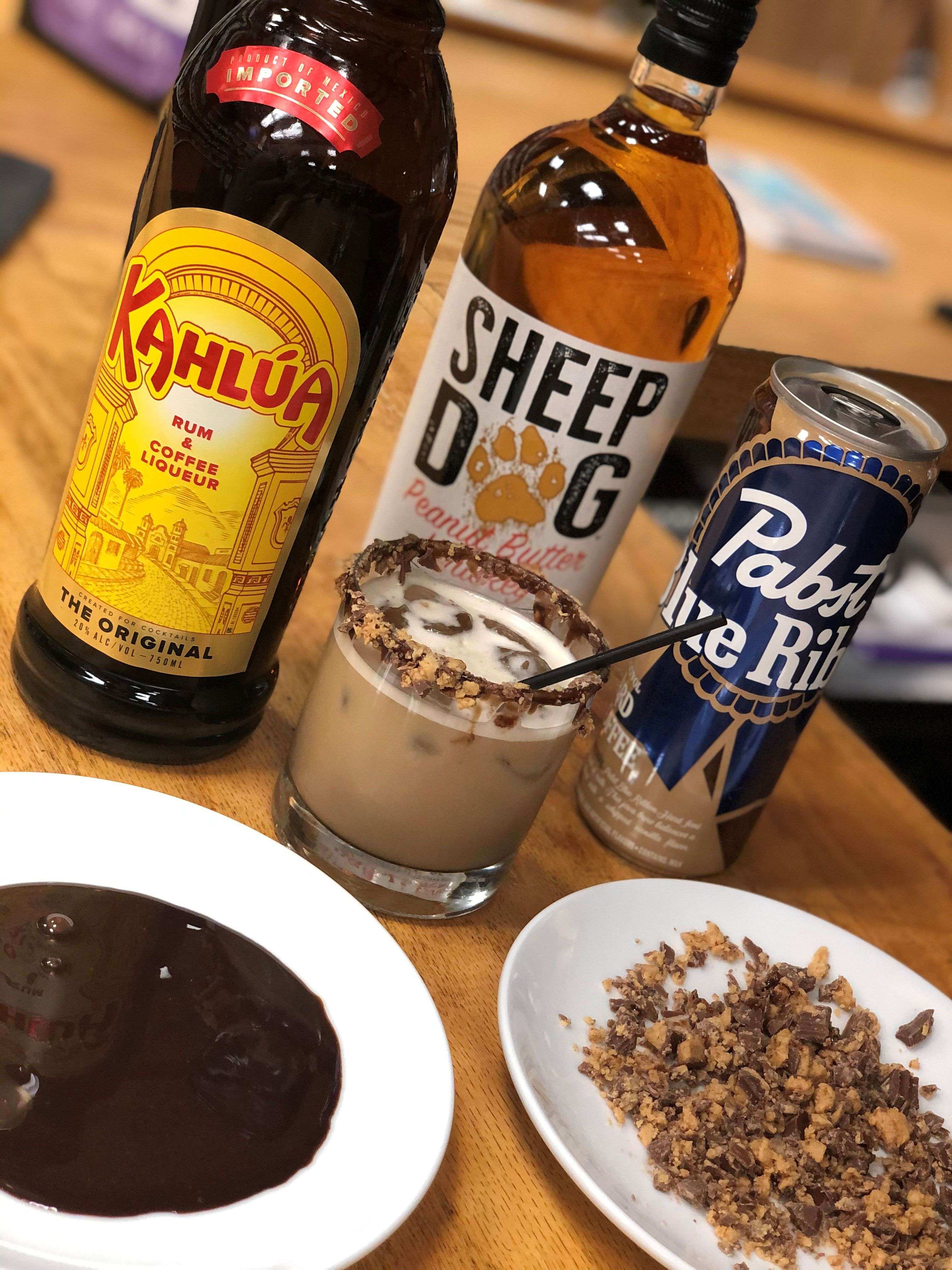 Chocolate peanut butter cocktail in 2020 dessert for