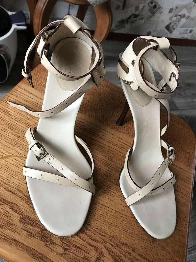 882858b43 GUCCI Gorgeous Women s Leather Sandals Heels Sz EU 37.5 Made in ITALY   fashion  clothing