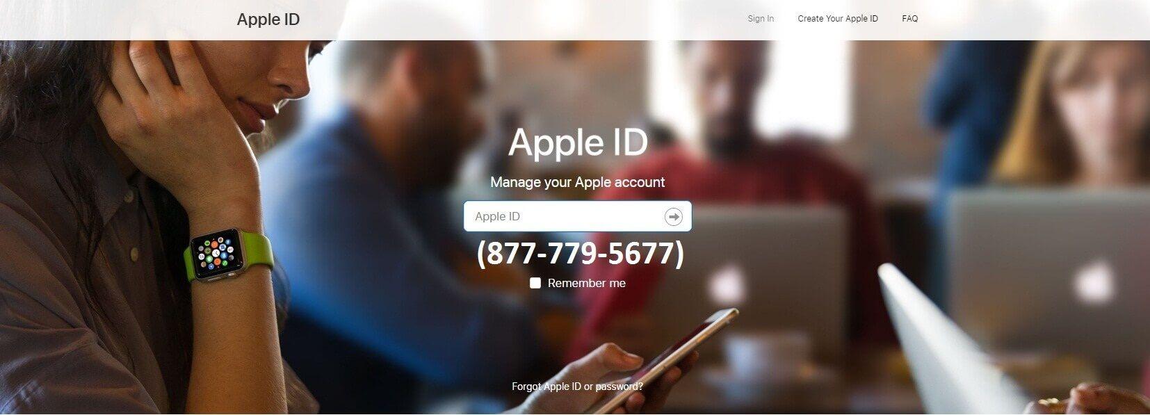 forgot apple password on iphone x
