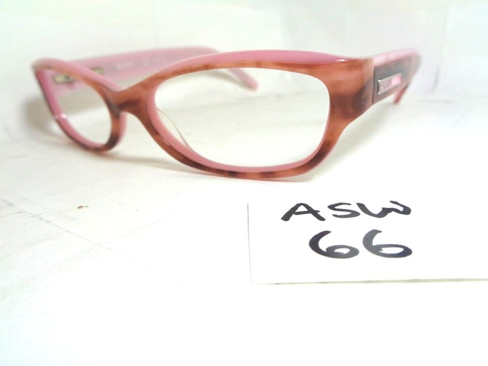 0fb3ebcf6891 DKNY Eyeglass Frame DY4590 3410 Pink Brown Rectangular (ASW-66)  DKNY