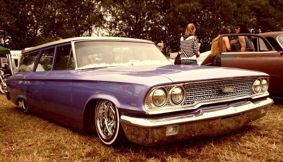 63 Ford Galaxie Wagon   Cragars & Radirs   Pinterest   Ford ...