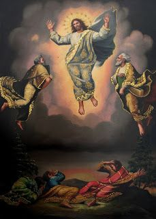 La transfiguración en el Monte Tabor