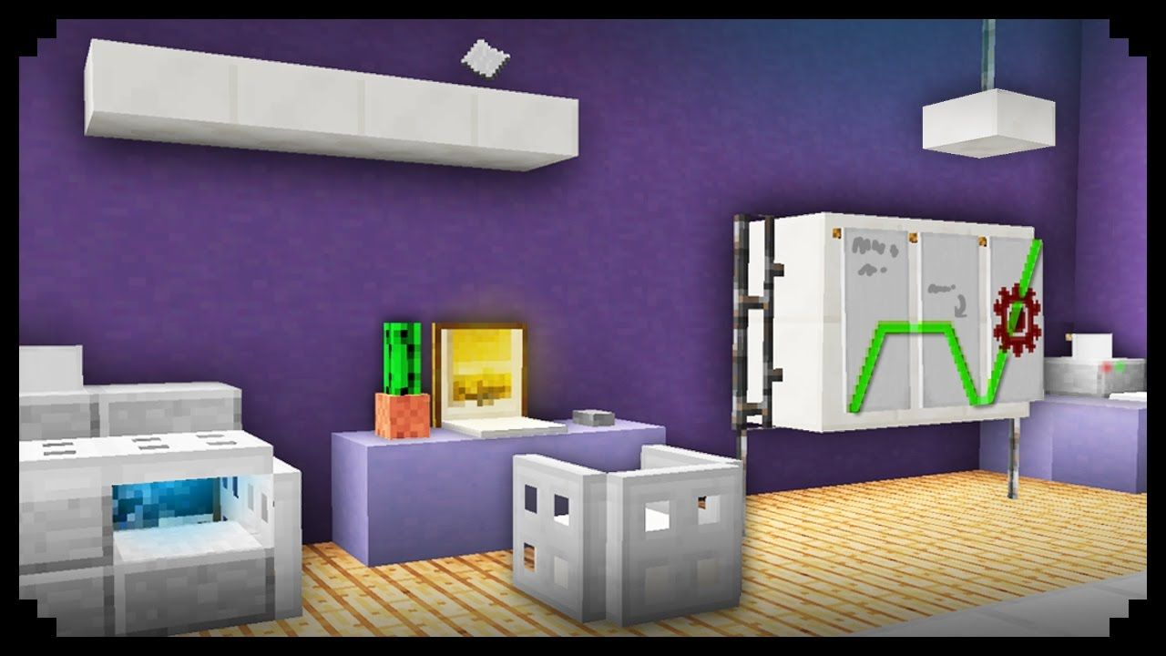 Minecraft 10 Office Furniture Design Ideas Youtube