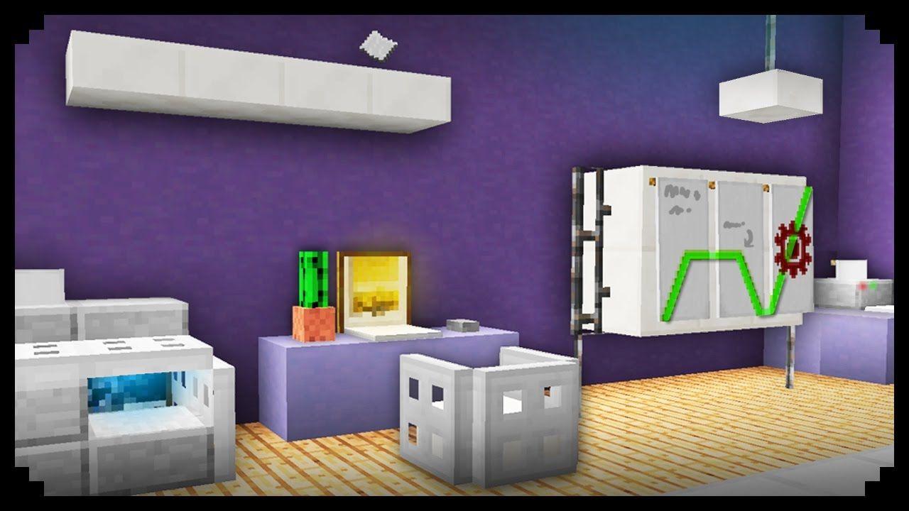 Goodtimeswithscar Minecraft Tutorial How To Build A Bathroom How To Build A Modern House Minecraft Modern Bathroom Furniture Design Minecraft Interior Design
