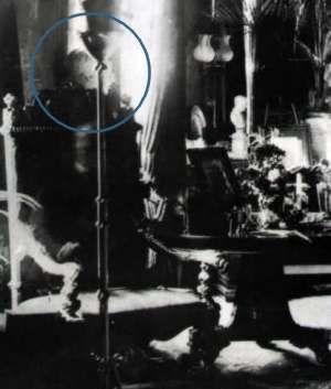 Un clásico de la fotografía fantasmal!