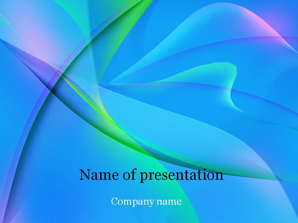 free microsoft powerpoint templates download free blue fantasy powerpoint template for presentation