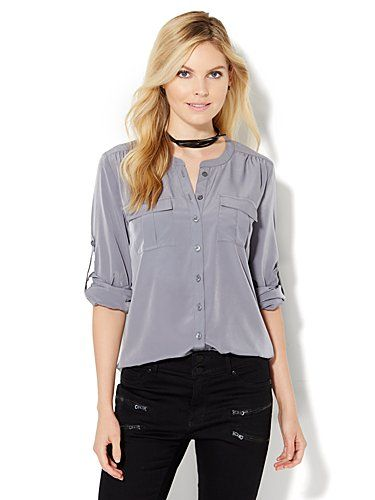 6cc0ea9abac Shop Soho Soft Shirt - Collarless - Solid. Find your perfect size online at  the best price at New York