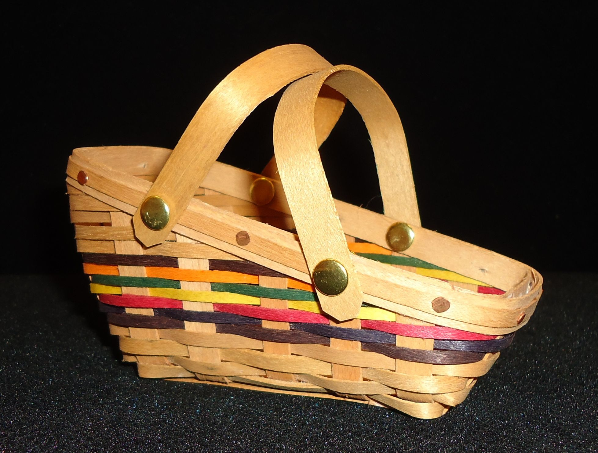 The 5th Miniature In Our Autumn Colors Series, The Garden Helper Basket Is  4 1