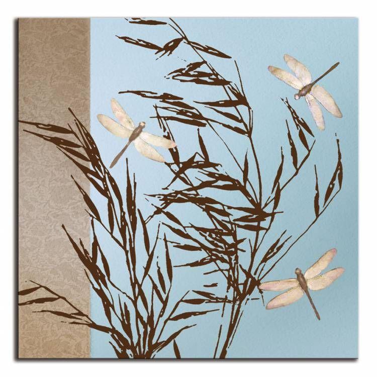 12783 / Cuadro Dragonflies | Cuadros Flores | Pinterest | Cuadros ...