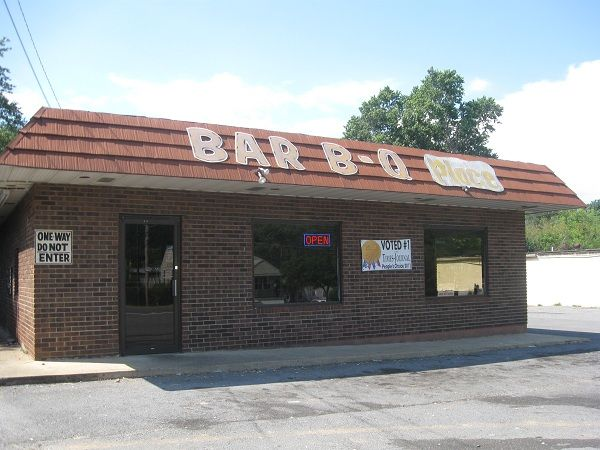 Bar-B-Q Place, Fort Payne AL | Marie, Let's Eat!