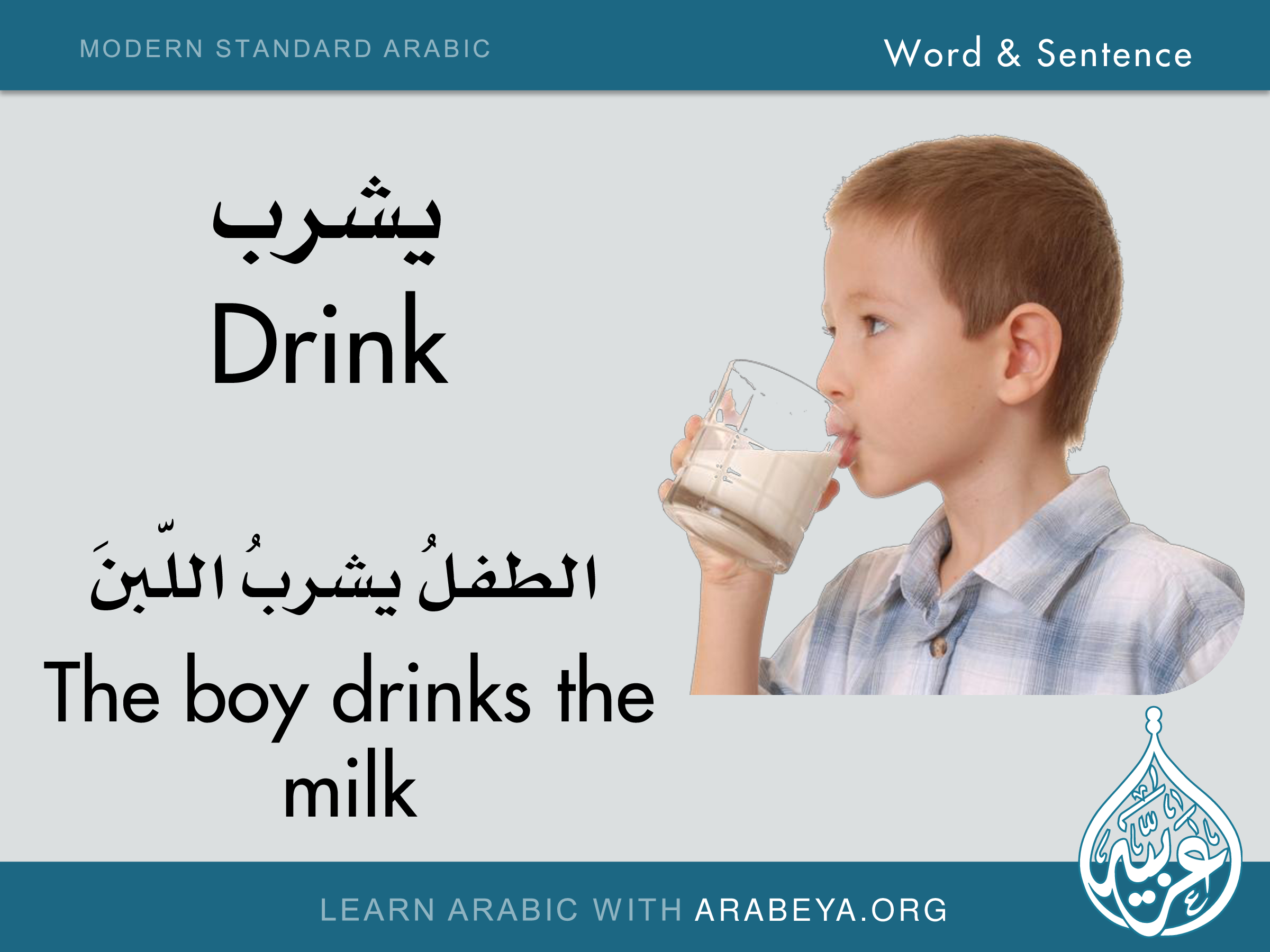 how to learn arabic online through english