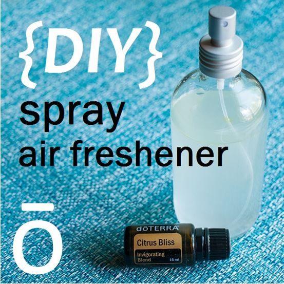 diy essential oil bathroom spray. spray air freshener with doterra essential oils: cup of distilled water + 20 drops oil diy bathroom o