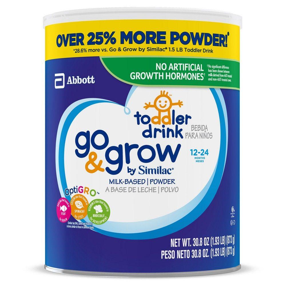 Go Grow By Similac Toddler Drink Powder 30 8oz Similac